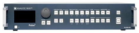 Analog Way Pulse² - PLS350-3G Hi-Resolution Mixer Seamless Switcher with 8 inputs and Native Matrix mode PLS350-3G