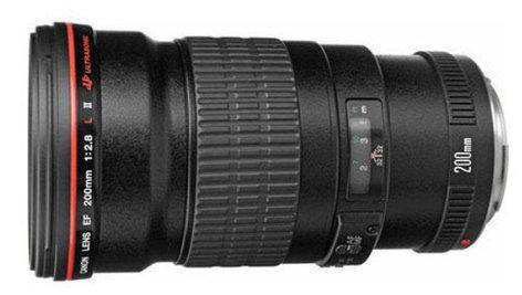 Canon 2529A004 EF 200mm f/2.8L II USM Telephoto Lens 2529A004