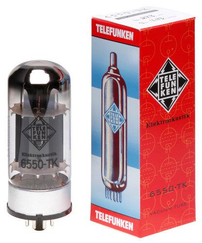 Telefunken Elektroakustik 6550-TK Black Diamond Series Power Amplifier Vacuum Tube 6550-TK