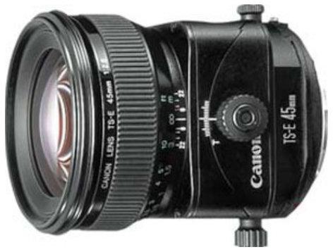 Canon 2536A004 TS-E 45mm f/2.8 EF Tilt-Shift Lens 2536A004