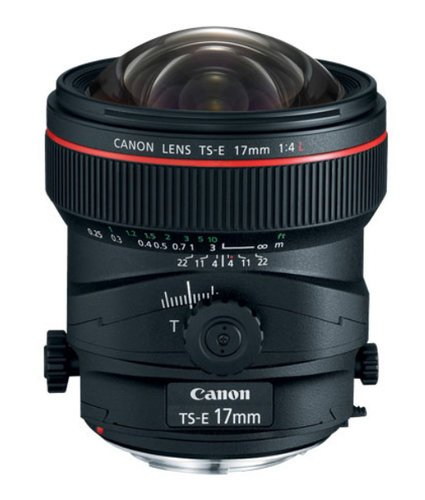 Canon 3553B002 TS-E 17mm f/4L Tilt-Shift Lens 3553B002