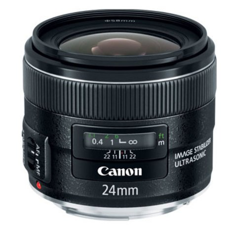 Canon 5345B002 EF 24mm f/2.8 IS USM Ultra Wide-Angle Lens 5345B002