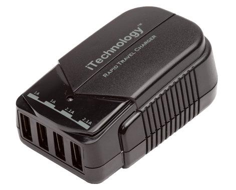 Listen Technologies LA-423  4-Port USB Charger for iDSP Systems LA-423