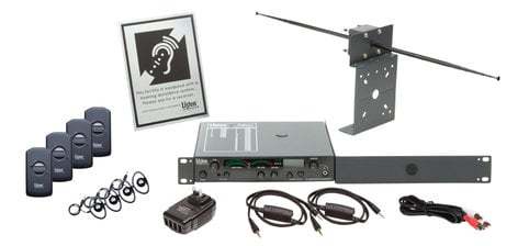 Listen Technologies LS-54-072 iDSP Prime Level II Stationary RF System (72MHz) LS-54-072
