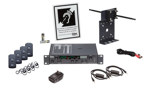 Listen Technologies LS-57-072  iDSP Advanced Level II Stationary RF System (72MHz) LS-57-072