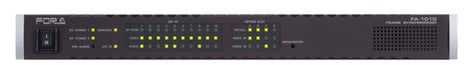 FOR-A Corporation FA-1010 Ten Channel Signal Processor FA-1010