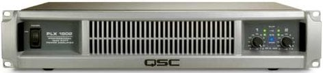 QSC PLX1802 Power Amplifier, Dual Channel, up to 1800W @ 4 ohms bridged, PLX-1802 PLX1802