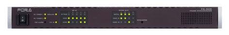 FOR-A Corporation FA-505  Five Channel Signal Processor  FA-505