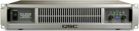 QSC PLX2502 Power Amplifier, Dual Channel, up to 2500W @ 4 ohms bridged, PLX-2502 PLX2502