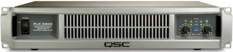 QSC PLX3602 Power Amplifier, Dual Channel, up to 3600W @ 4 ohms bridged PLX3602