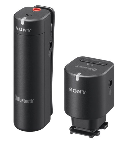 Sony ECM-W1M Wireless Bluetooth Microphone System for Sony Cameras with Multi-Interface Shoe ECMW1M