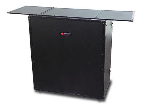 "Odyssey FZF5437TBL 54""W x 37""H Black Label Fold-Out DJ Table Stand FZF5437TBL"