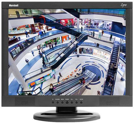 "Marshall Electronics M-LYNX-15WM 15"" LCD Monitor with Wall Mounting Hardware M-LYNX-15WM"