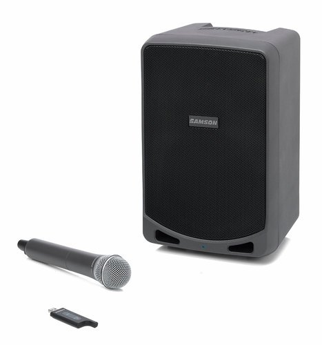 Samson Expedition XP106w Rechargeable Portable PA System with Handheld Wireless Microphone and Bluetooth XP106W
