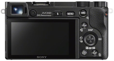 Sony ILCE-6000/B a6000 Mirrorless Compact Digital SLR Camera Body Only ILCE-6000/B