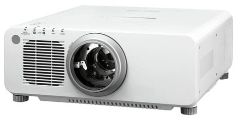 Panasonic PT-DW830ULW 8500 Lumens WXGA DLP Large Venue Projector in White without Lens PTDW830ULW