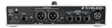 TC Helicon Play Electric Vocal & Guitar Multi-FX Processor PLAY-ELECTRIC