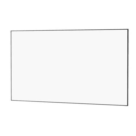 """Da-Lite 23700 65""""x116"""" UTB Contour Fixed Frame Projection Screen 23700-DALITE"""