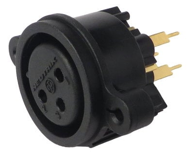 Mackie 400-223-00 XLR Input Connector for SRM450 and 1202VLZ Pro 400-223-00