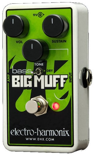 Electro-Harmonix Nano Bass Big Muff Pi Distrotion/Sustainer Bass Pedal NANO-BASS-BIGMUFF-PI