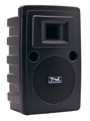 Anchor LIB-8000U2 Liberty Platinum Portable PA System with Onboard Bluetooth, (2) 16-Channel UHF Receivers and Rechargable Battery LIB8000U2