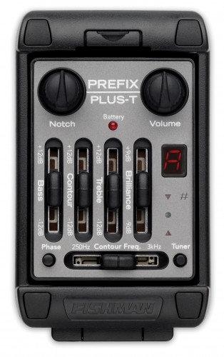 Fishman Prefix Plus T Narrow Format Acoustic Guitar Preamp System PRO-MAN-PT4