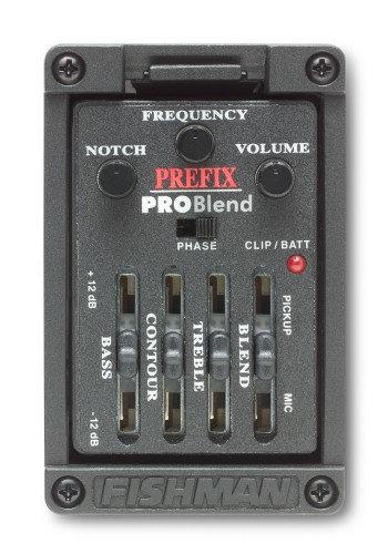 Fishman Prefix Pro Blend Wide Format Acoustic Guitar Preamp System PRO-MAT-P51