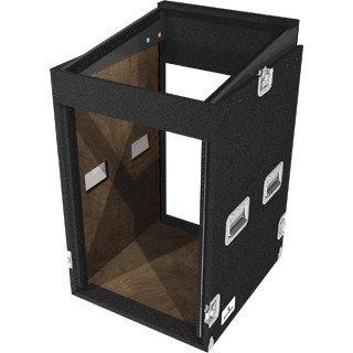 Grundorf TLR-16EXDR-PREB  16-Space Top-Load Rack Case TLR-16EXDR-PREB