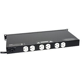 Lowell ACR-1506-LTS  Rackmount Power Panel with Hooded Light ACR-1506-LTS