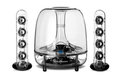 Harman Kardon SOUNDSTICKS-BTAM SoundSticks Wireless Three-Piece Wireless Speaker System with Bluetooth SOUNDSTICKS-BTAM