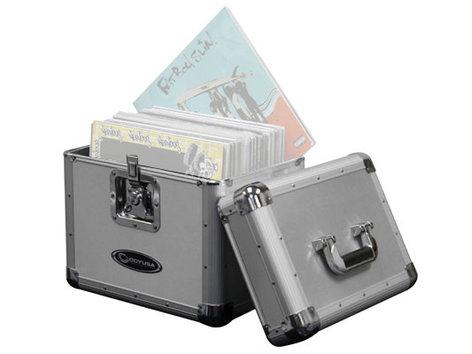 Odyssey KLP1SIL  70-Disc Krom LP/Utility Case in Silver KLP1SIL