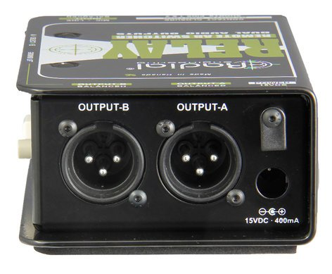Radial Engineering Relay Xo Balanced Remote AB Switcher RELAY-XO