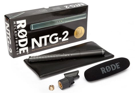 Rode NTG2 Multi-Powered Shotgun Microphone NTG2