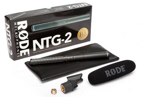 Rode NTG2 Multi-Powered Shotgun Microphone NTG2