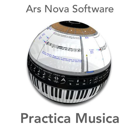 Ars Nova Practica Musica Interactive Music Education Software 3-Year 100 Seat Site License PRACTICA-MUSICA-100