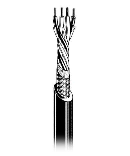 Canare L4E5C-200M-BLACK Star Quad Microphone Cable, 200 Meters L4E5C-200M-BLACK