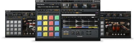 Steinberg Groove Agent 4 Drum Workstation Software  GROOVE-AGENT-4