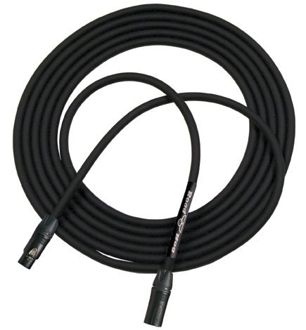 RapcoHorizon Music HOGM-6.K  6 ft Roadhog Microphone Cable HOGM-6.K