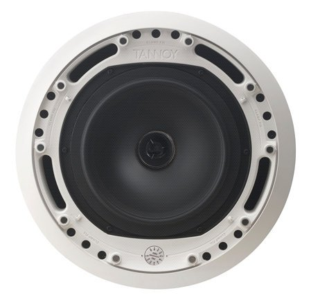 "Tannoy CMS 803DC PI 8"" Ceiling Speaker with Low Impedance/Transformer Operation, Pre-Install Model without Backcan CMS803DC-PI"