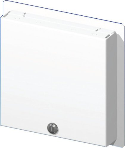 FSR WB-PS5G  5-Gang Locking Wallplate with Window WB-PS5G