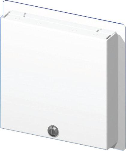 FSR, Inc WB-PS5G  5-Gang Locking Wallplate with Window WB-PS5G