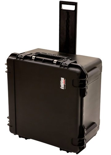 SKB Cases 3I-2424-14BC iSeries 24x24x14 Waterproof Case with Pull-Out Handle and Cubed Foam 3I-2424-14BC