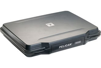 "Pelican Cases 1085 Black HardBack Case for 14"" Laptops PC1085"