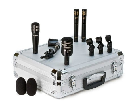 Audix DP QUAD 4-Piece Drum Microphone Package with Road Case DPQUAD
