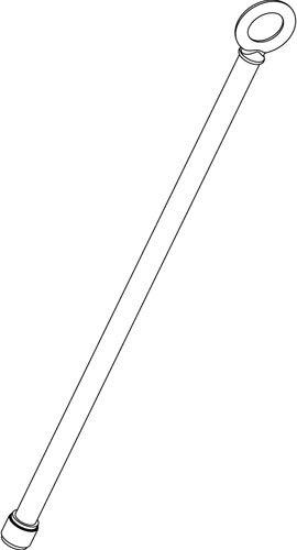 Grace Design SB-HB-1M Spacebar 1M Hanging Bar for SB-SUR and SB-100 SB-HB-1M