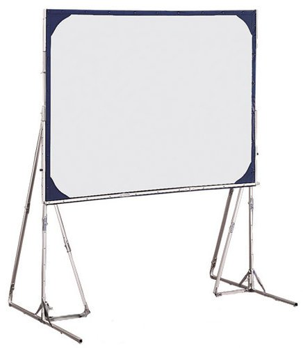 Draper Shade and Screen 218195  Cinefold Screen with Heavy Duty Legs and 65 x 116 in Viewing Area 218195