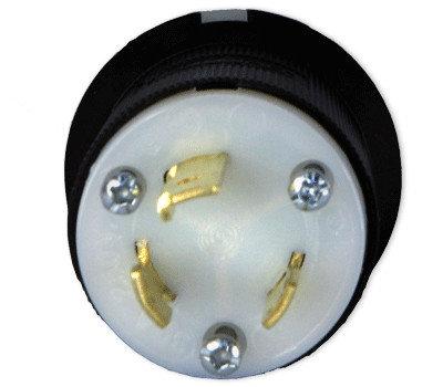 Lex Products Corp HBL2621 30A 250VAC PowerPARTS L6-30 Male Locking Plug HBL2621