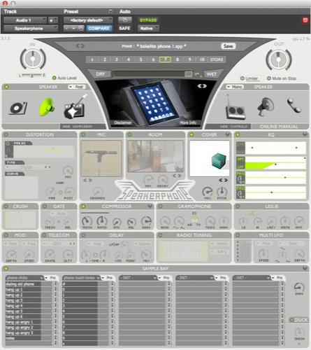 Audio Ease Speakerphone 2.1 Speaker Modulator Software SPEAKERPHONE-2.1