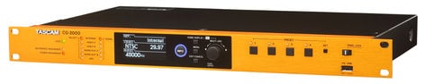 Tascam CG-2000 Video Sync/Master Clock Generator for Broadcast and Post-Production CG-2000