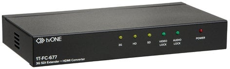 TV One 1T-FC-677 3G-SDI Converter and Audio De-embedder with HDMI 1T-FC-677